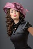 klänninghatt royaltyfri bild