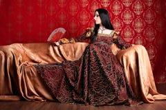klänninginfall Fotografering för Bildbyråer