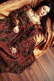 klänninginfall Arkivfoto