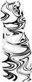 klänningkvinnlig Arkivbild