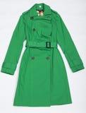 klänningkvinnliggreen Fotografering för Bildbyråer