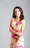 klänningnarrdräkt arkivfoto