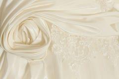 klänningstyckbröllop Arkivbild