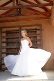 klänningwind royaltyfri bild