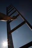 klättra den företags stegen Royaltyfri Bild