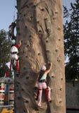 klättra för barn Royaltyfri Fotografi