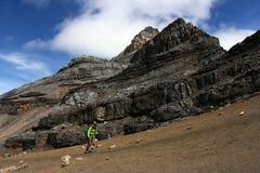 Klättra på berg Royaltyfri Bild
