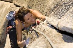 klättra som är lyckligt Royaltyfri Fotografi