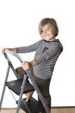 Klättra stegen Fotografering för Bildbyråer
