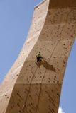 klättra till överkanten Royaltyfria Bilder