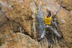klättrare Fotografering för Bildbyråer