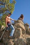 klättrare arkivfoton