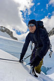 klättrareis arkivfoton