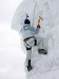 klättrareisberg fotografering för bildbyråer