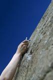 klättraren tecknar hand snabbt s royaltyfria bilder