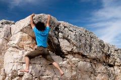 klättringöverkant Fotografering för Bildbyråer