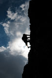 klättring Arkivfoton