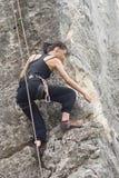 klättring Arkivbild