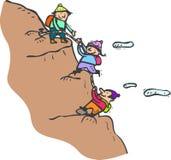 klättring Arkivfoto
