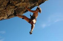 klättring Royaltyfria Foton
