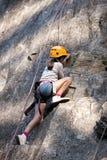 klättring för barn för alpsar-ches Royaltyfria Bilder