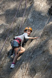 klättring för barn för alpsar-ches Royaltyfri Bild