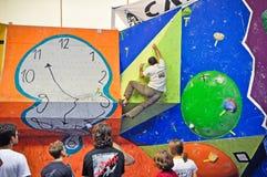 klättring torino för 2012 challenge Arkivbilder