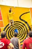 klättring torino för 2012 challenge Arkivfoto