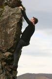 klättringen frigör Arkivfoto