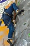 klättringen knyter rockrep två Arkivbilder