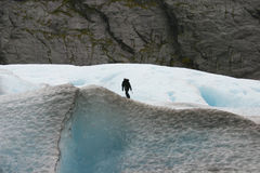 klättringman Arkivfoton