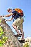 klättringman Royaltyfria Bilder