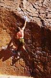 klättringmanrock arkivbild