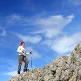 klättringmaximum till Arkivbilder