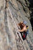 klättringrock Arkivfoto