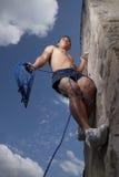 klättringsky till Royaltyfri Fotografi