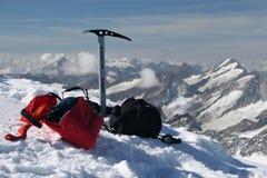 klättringutrustning Fotografering för Bildbyråer