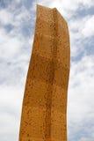 klättringvägg Arkivbild