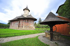 Klöster von Bucovina: Moldovita Lizenzfreies Stockfoto