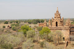 Klösterlicher Komplex Sünde Byu Shin, Bagan, Myanmar Stockfoto