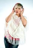 klädervinterkvinna Royaltyfri Foto