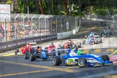 KL City Grand Prix 2015 Royalty Free Stock Photo
