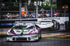 KL City Grand Prix 2015 Royalty Free Stock Image