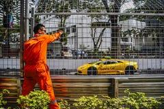 KL City Grand Prix 2015 Royalty Free Stock Photography