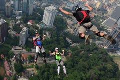 KL de Sprong 2014 van de torenbasis Royalty-vrije Stock Foto's