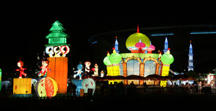 KL Lantern Festival Royalty Free Stock Photo