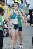 kl-maratonvinnare Royaltyfria Foton