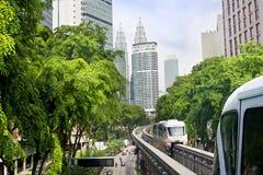 KL Monorail Stock Photos