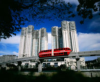 KL Monorail Stock Images