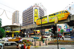 KL Monorail Royalty Free Stock Photography